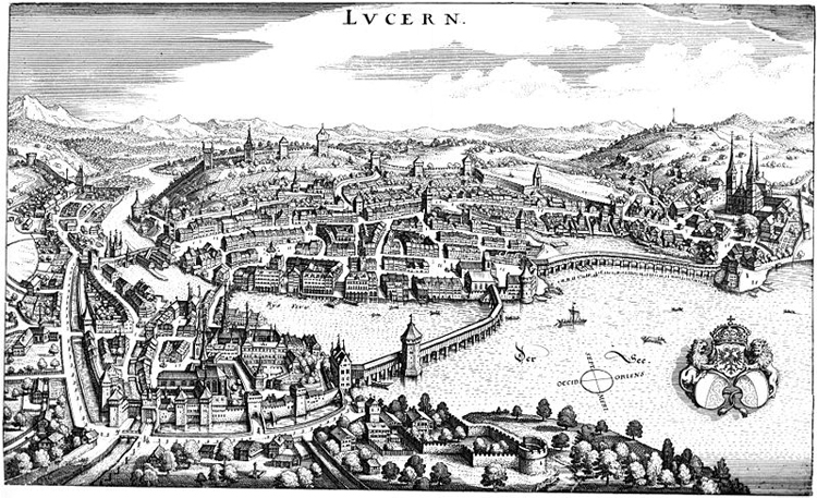 Historic Map Lucerne